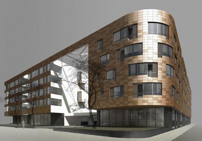 An appartement complex Golden House