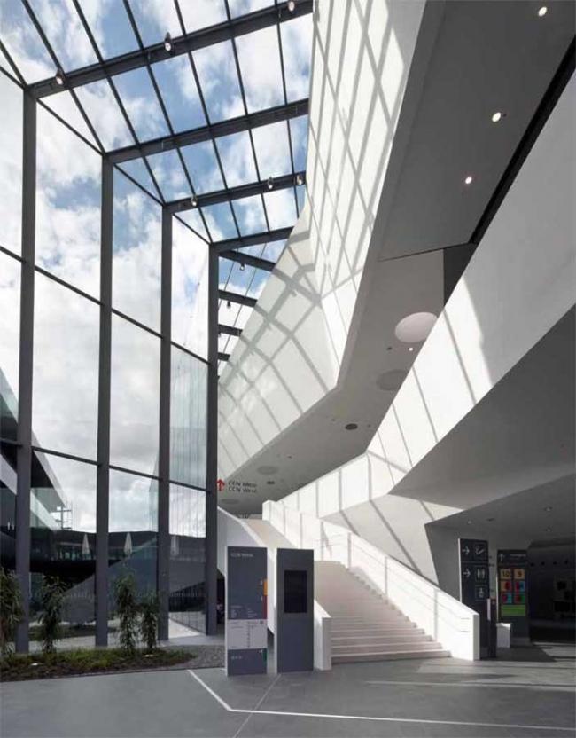 Реконструкция главного входа Нюрнбергского выставочного комплекса. © Gerhard Hagen
