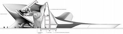 Средиземноморский музей культуры нураге и современного искусства. Разрез