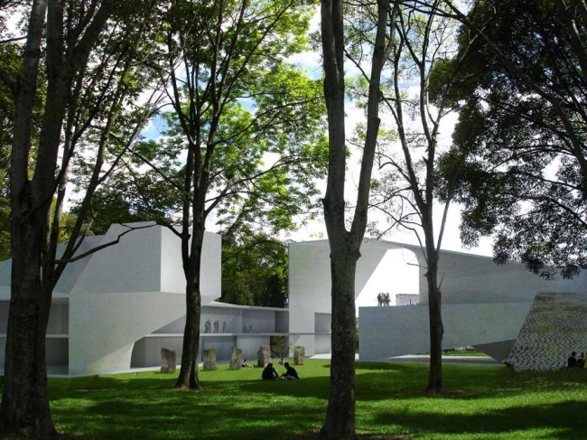 Корпус факультетов права и экономических наук Университета Колумбии © Steven Holl Architects