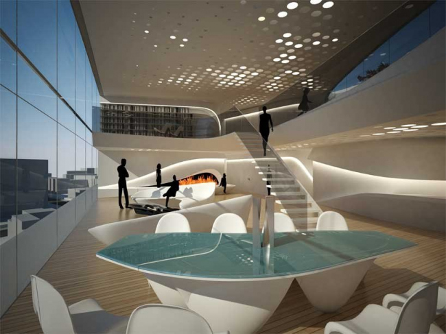 "Экономический парк Линькун – проект ""Хунцяо SOHO"" © Zaha Hadid Architects"