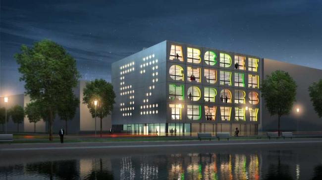 Здание «Алфавит» © MVRDV