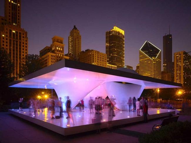 «Павильон Бернема» в Чикаго © Сhristian Richters
