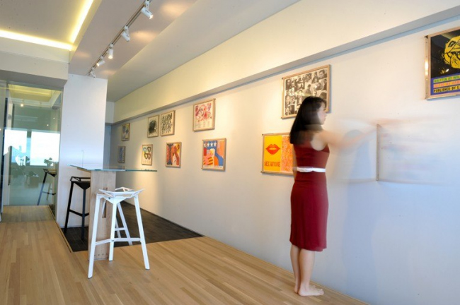 Квартира-студия 4906, Ханкок-Центр, Чикаго, США, 2009 г. Studio IDE: Vladimir Radutny, Paul Tebben Photo © Candice C. Cusic