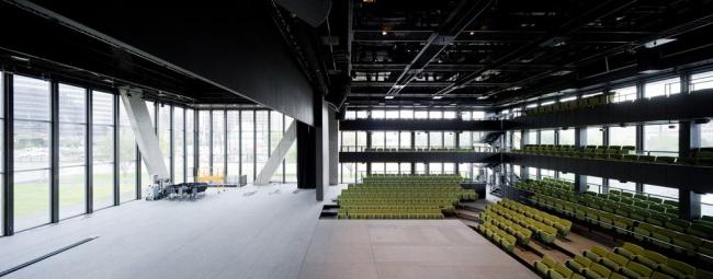 Театр имени Ди и Чарльза Уайли, Даллас, США Многофункциональный зал Фото © Iwan Baan