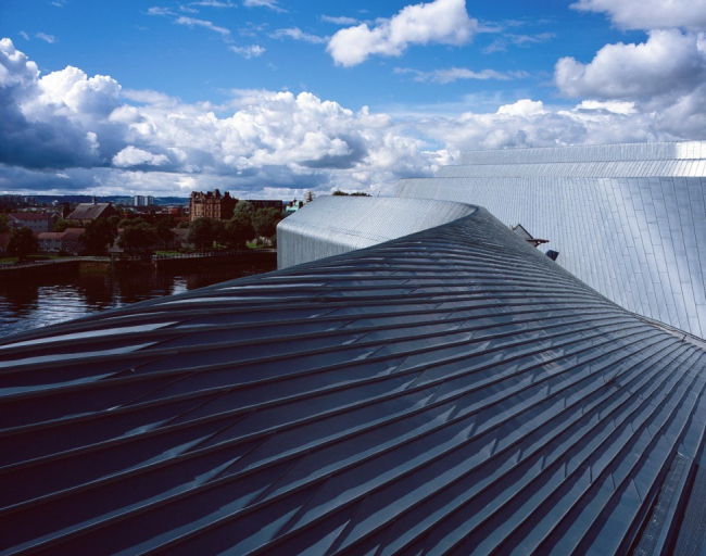 Музей Риверсайд в процессе строительства © Helene Binet