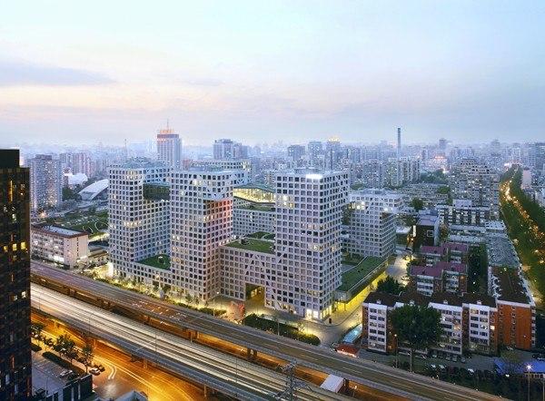 Linked Hybrid, Beijing, China, 2003-2009 Photo © Shu He