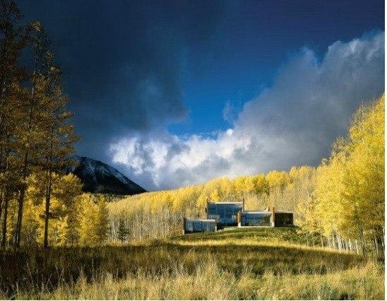 Бюро ARO. Дом в Колорадо. 1999. Фото © Paul Warchol