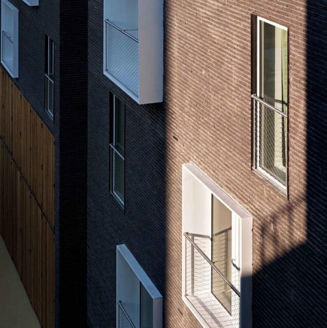 Студенческое общежитие в Париже © Julien Lanoo