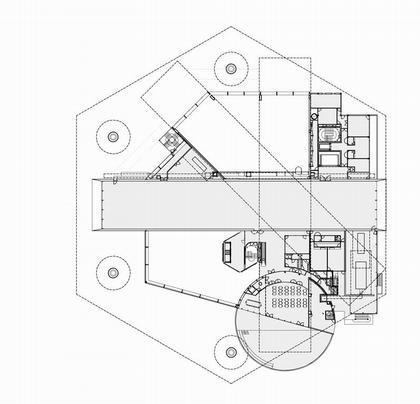 Центр Помпиду-Мец. План второго этажа