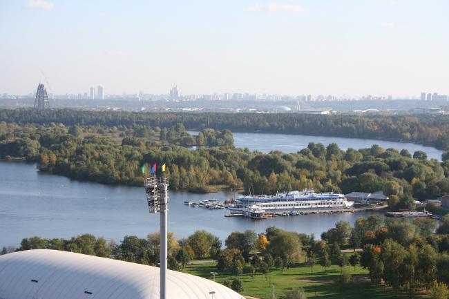 Янтарный город. Вид из будущих окон строящегося комплекса