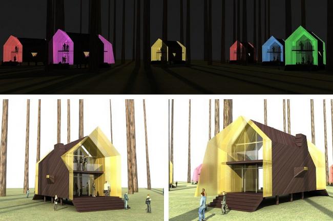 Тотан Кузембаев. Дом-светлячок. 1 премия «Архновации» за проект индивидуального жилого дома