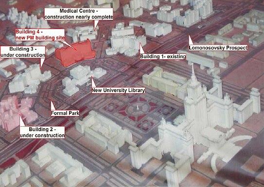 Предполагаемое местоположение нового здания Политехнического музея. Изображение с сайта http://eng.polymus.ru