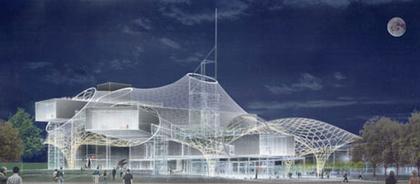 Центр Помпиду-Мец. Проект Сигэру Бана. 1-место