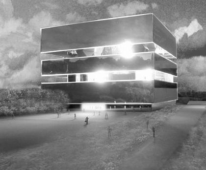Центр Помпиду-Мец. Проект «Херцог & де Мерон». 3-место