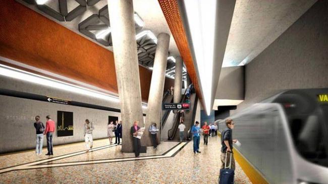 Станция метро «Стилс-Уэст». Подземный зал © ТТС