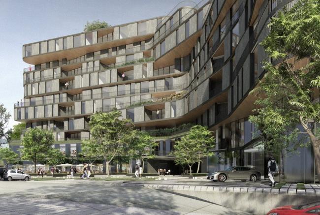 Жилой комплекс High Park. © Rojkind Arquitectos