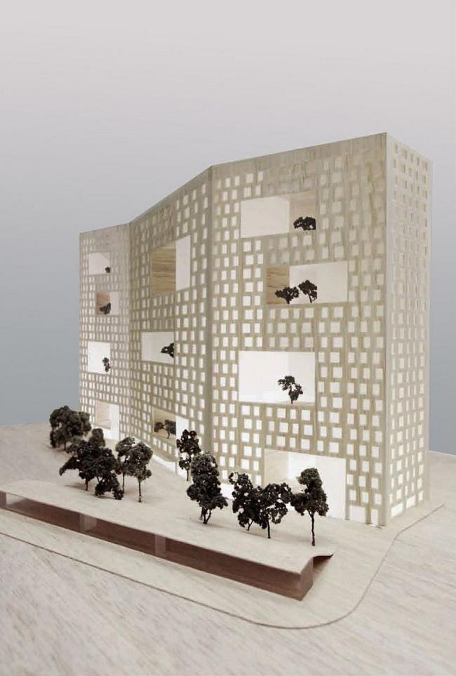 Жилой дом на Староалексеевской. Проект 2010-2011, в процессе строительства © ADM