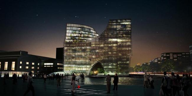 Комплекс Hangzhou Gateway © JDS