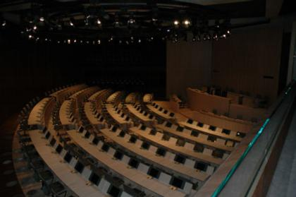 Франк Аммутен. Реконструкция Ратуши Марселя. Зал заседаний. Фото ©Frederic Lenne © Le Moniteur