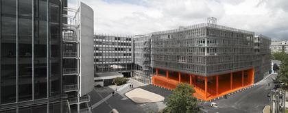 «Peripheriques architectes». Новый корпус Университета Пьера и Мари Кюри в Жюссье. Фото © Le Moniteur