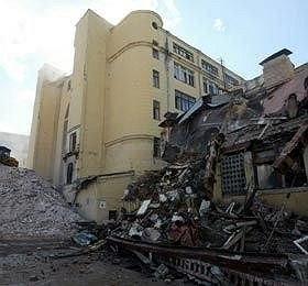 руины в Оружейном переулке. фото: photoexpress