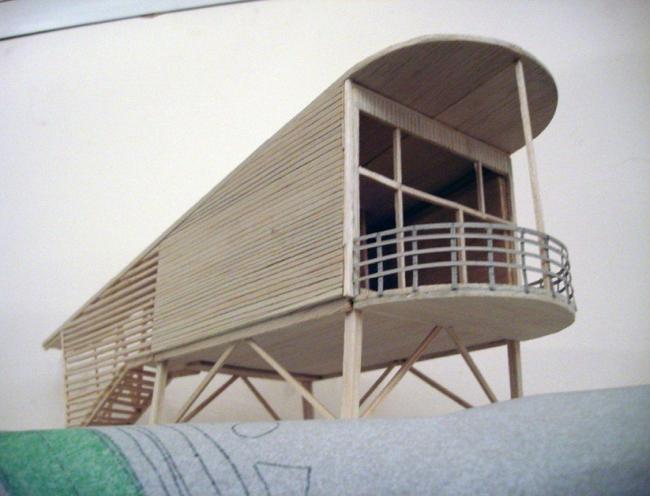 Гостевой дом в ПИРогово. Макет © Архитектурная мастерская Тотана Кузембаева