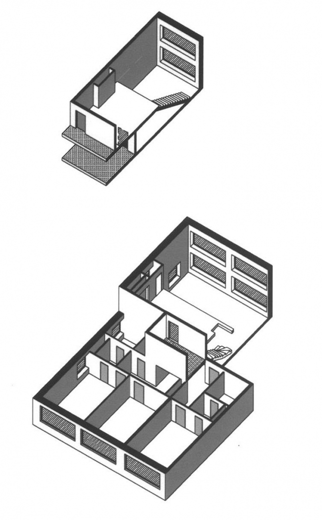 Аксонометрии квартир дома на Верхней Масловке: самая маленькая и самая большая квартиры