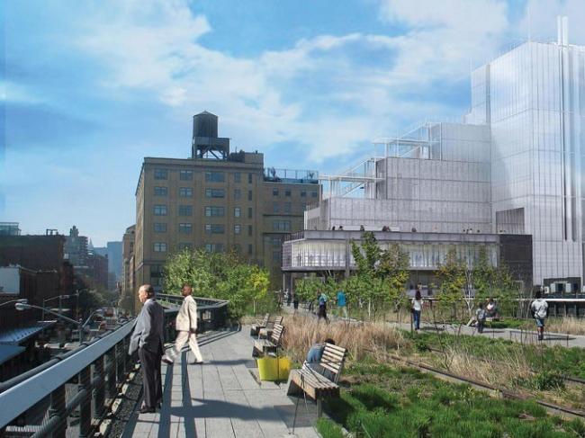 Технический корпус Парка Хай-Лайн © Renzo Piano Building Workshop