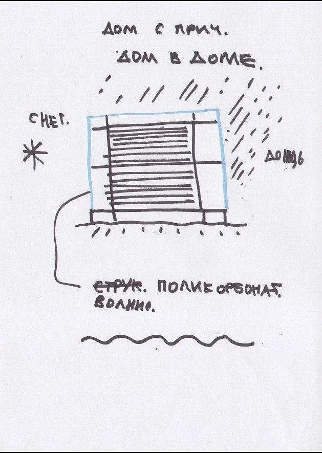 Дом с причалом 2 © Архитектурная мастерская Тотана Кузембаева