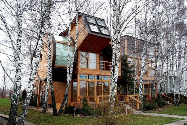 Дом с причалом в Пирогово © Архитектурная мастерская Тотана Кузембаева