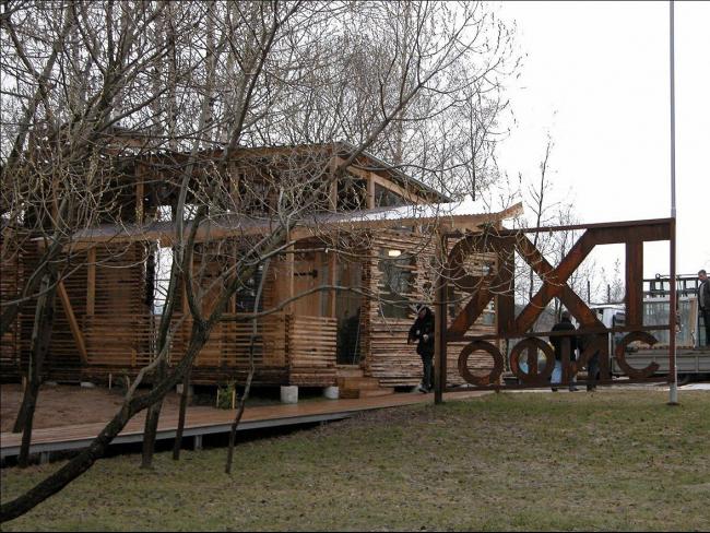 Яхт-офис v1 © Архитектурная мастерская Тотана Кузембаева