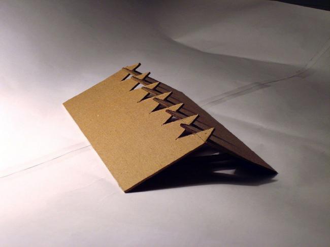 Гольф-клуб в Пирогово. Макет крыши © Архитектурная мастерская Тотана Кузембаева