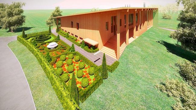 Дом у десятой лунки © Архитектурная мастерская Тотана Кузембаева