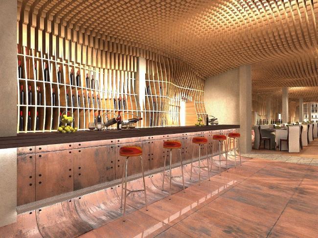 Гостиница 3 звезды © Архитектурная мастерская Тотана Кузембаева
