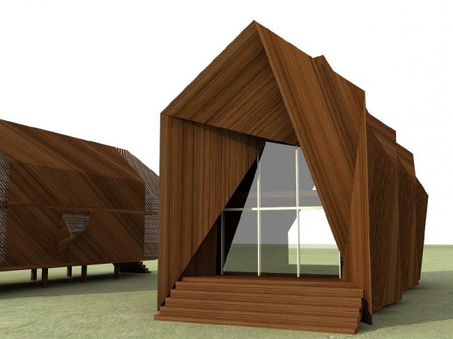 Дом «Светлячок» © Архитектурная мастерская Тотана Кузембаева