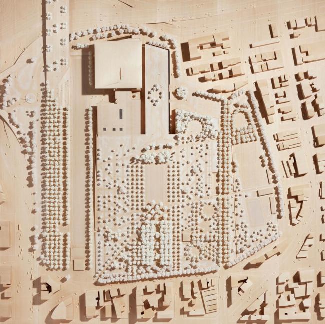 Культурный центр Фонда Ставроса Ниархоса. Окончательный проект. Photo © Michel Denance
