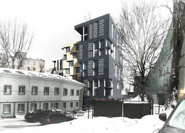 Жилой дом на Саввинской набережной © ТПО «Резерв»