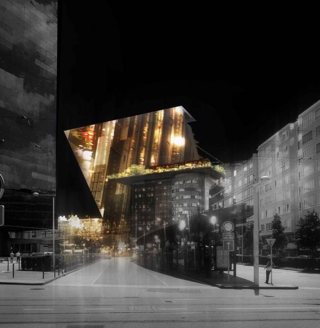 Южный вокзал - реконструкция © Ateliers Jean Nouvel