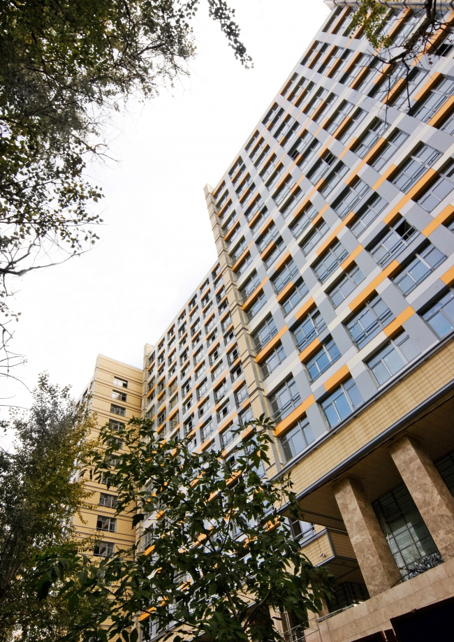 Жилой комплекс «Седьмое Небо». Реализация, 2008 © Архитектурная мастерская «Группа АБВ»