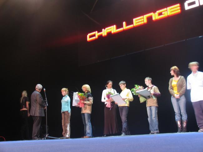 Награждение Евгении Ширкиной