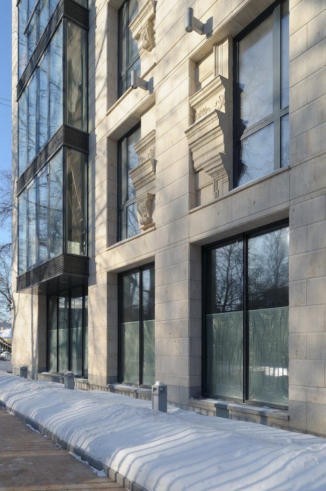 «Особняк в Хилковом переулке» © Архитектурная мастерская «Группа АБВ»