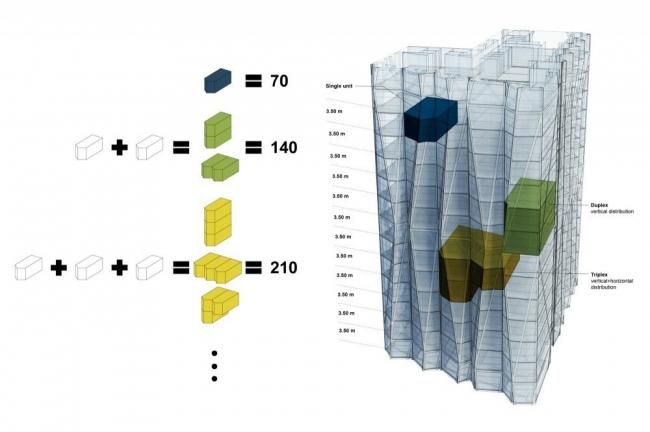 Многофункциональный комплекс Reforma 432 © Rojkind Arquitectos