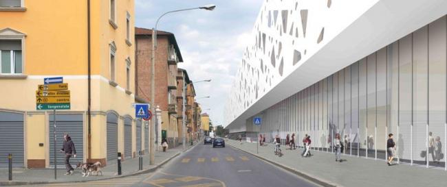 Центральный вокзал в Болонье, Италия © Arata Isozaki + Andrea Maffei Associati