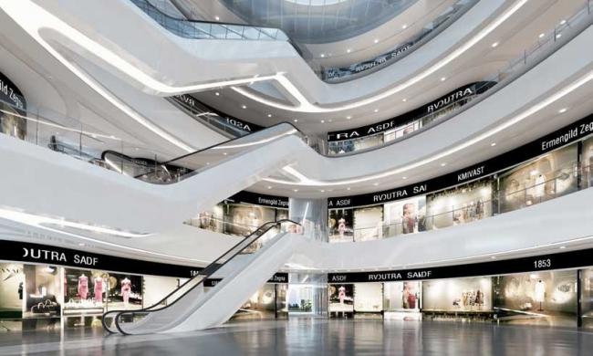 "Комплекс ""Чаоянмэнь SOHO"" © Zaha Hadid Architects"