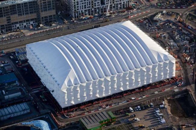 Лондонский Олимпийский баскетбольный стадион © ODA