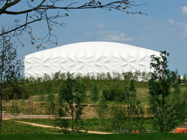 Лондонский Олимпийский баскетбольный стадион © Anthony Palmer / ODA