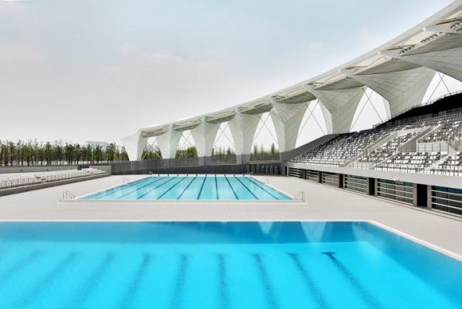 Шанхайский восточный спортивный центр. Открытый бассейн © Marcus Bredt