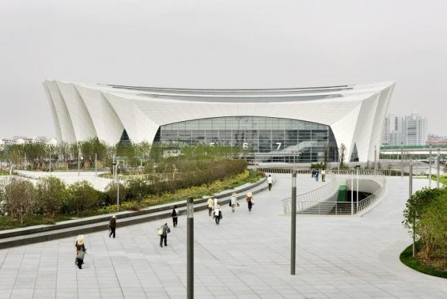 Шанхайский восточный спортивный центр. Стадион © Marcus Bredt