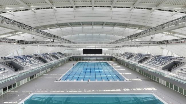 Шанхайский восточный спортивный центр. Крытый бассейн © Marcus Bredt
